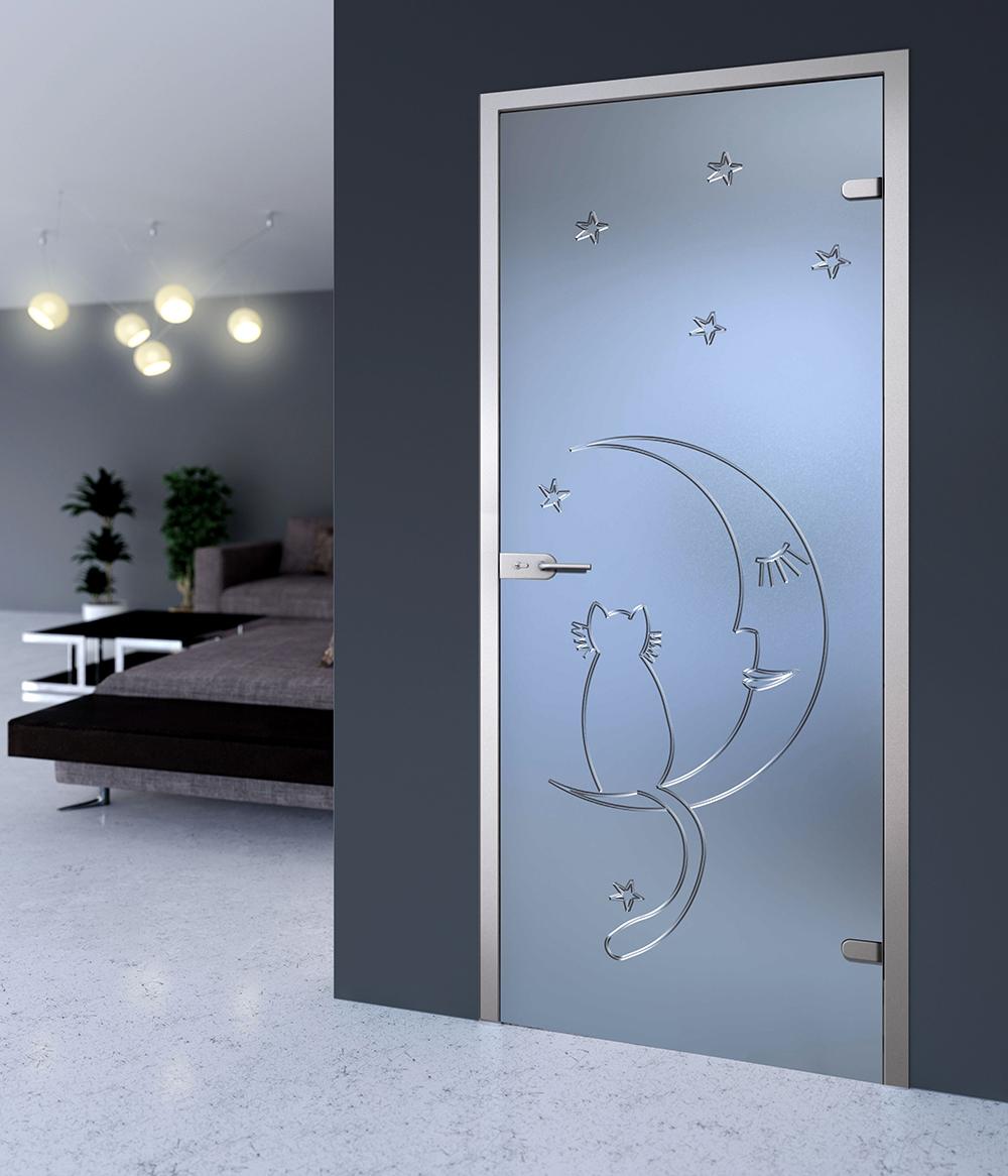 Как выбрать стекла в межкомнатные двери, какие основные требования