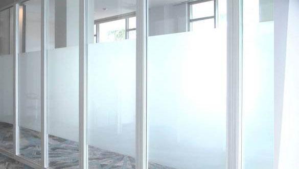 Противопожарные стеклянные перегородки  - производство по размерам на заказ