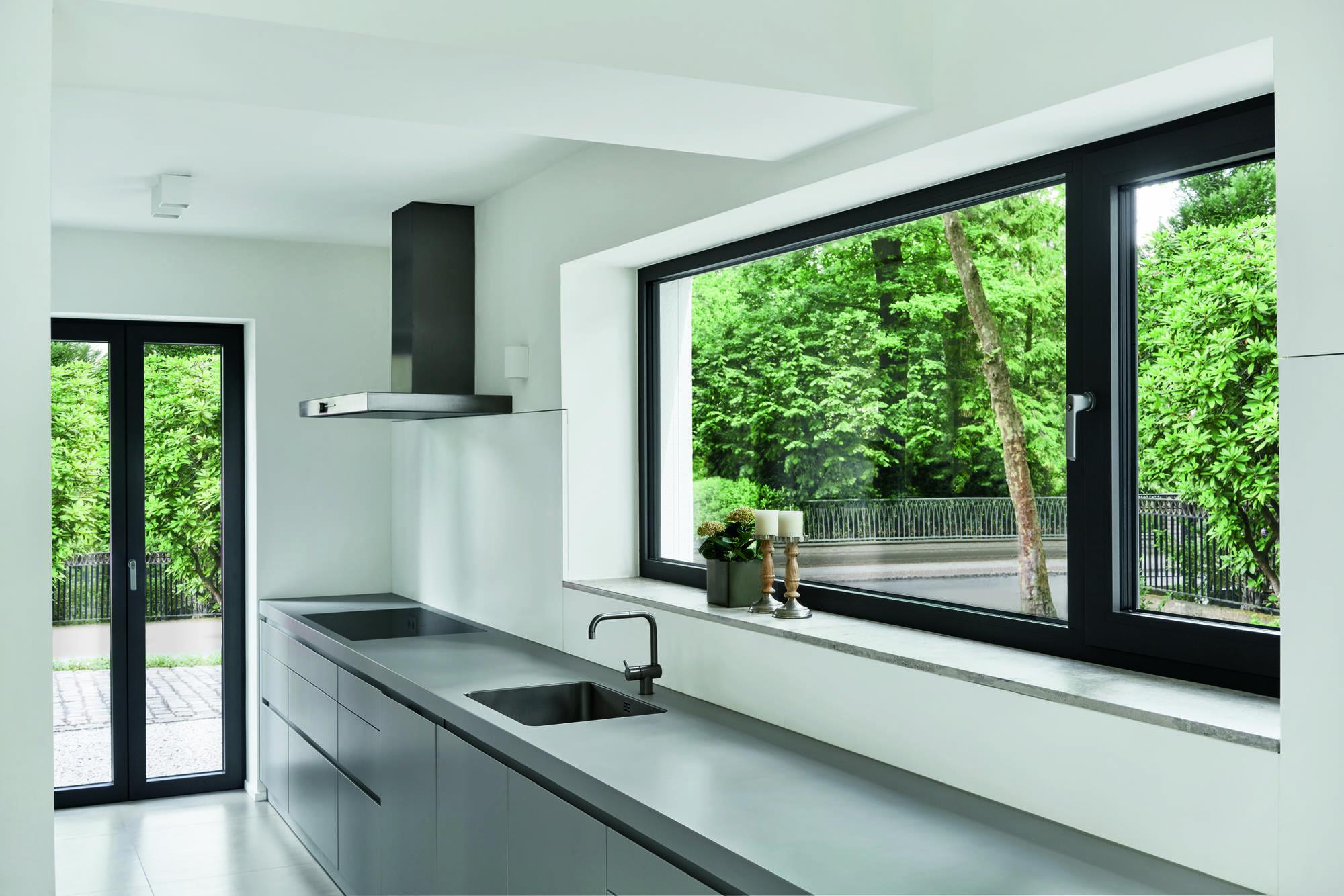 Изготовления пластиковых окон из ПВХ Schuco, высокое качество конструкций