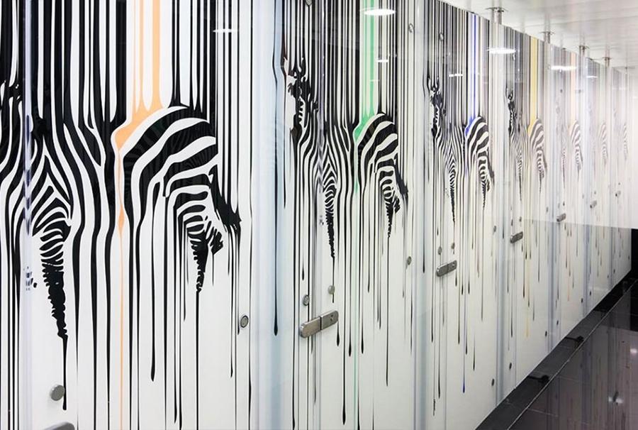 Стеклянные стеновые панели с фотопечатью