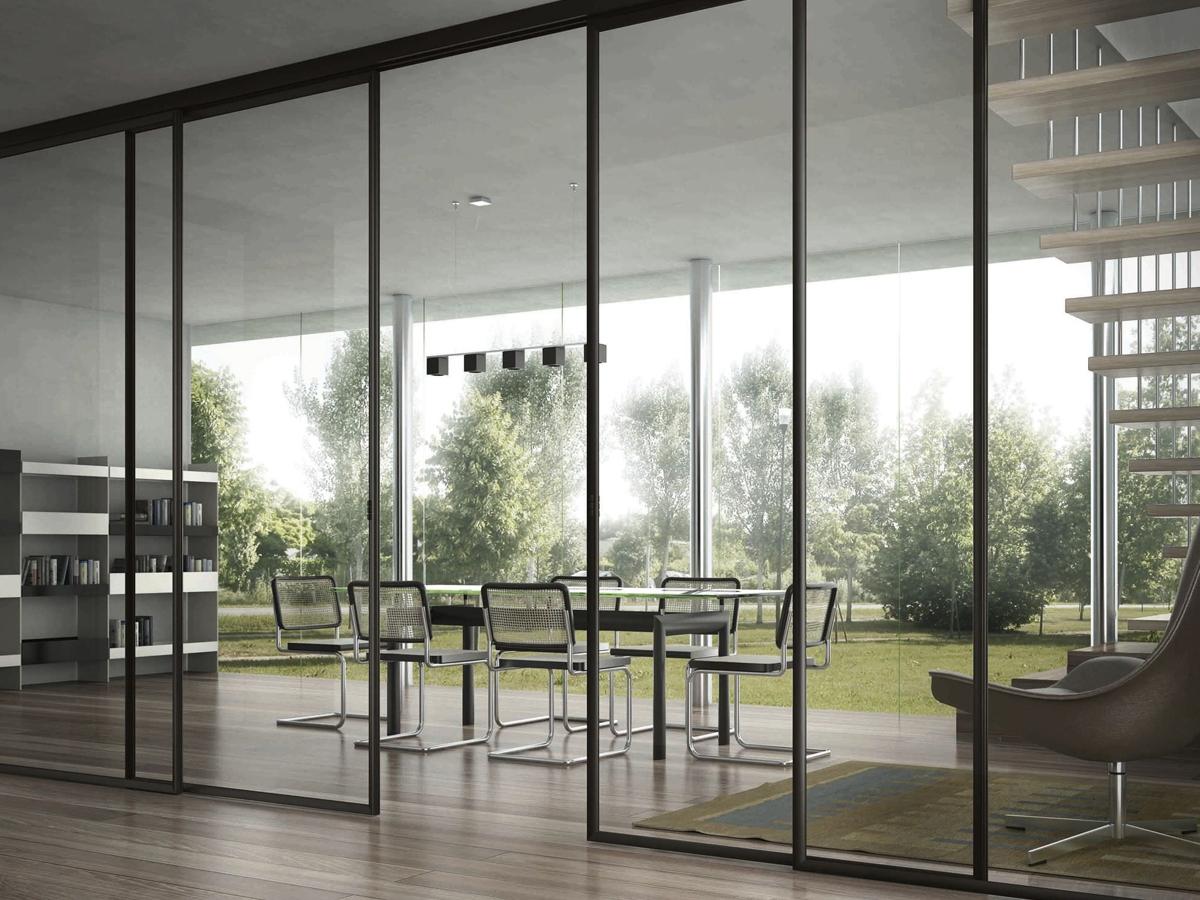 Стеклянные двери: функциональность и удобство