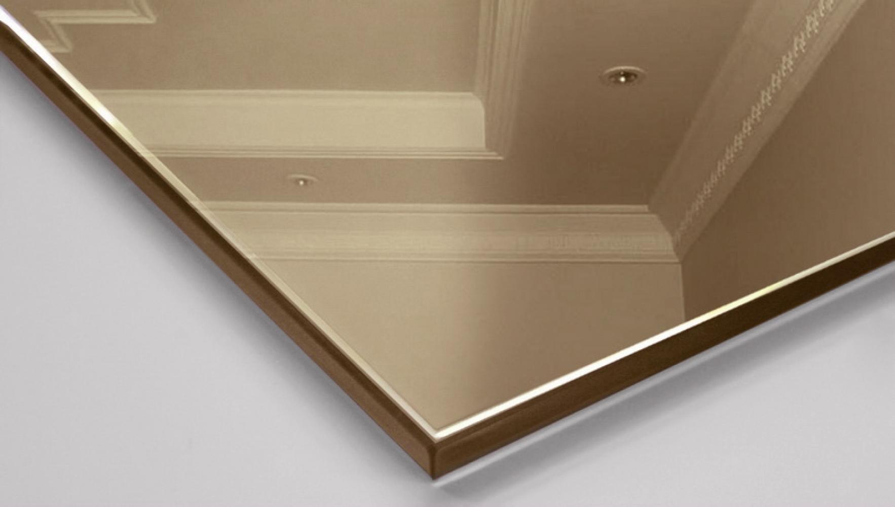Изготовление бронзового зеркала под заказ от компании «ДомГласс»