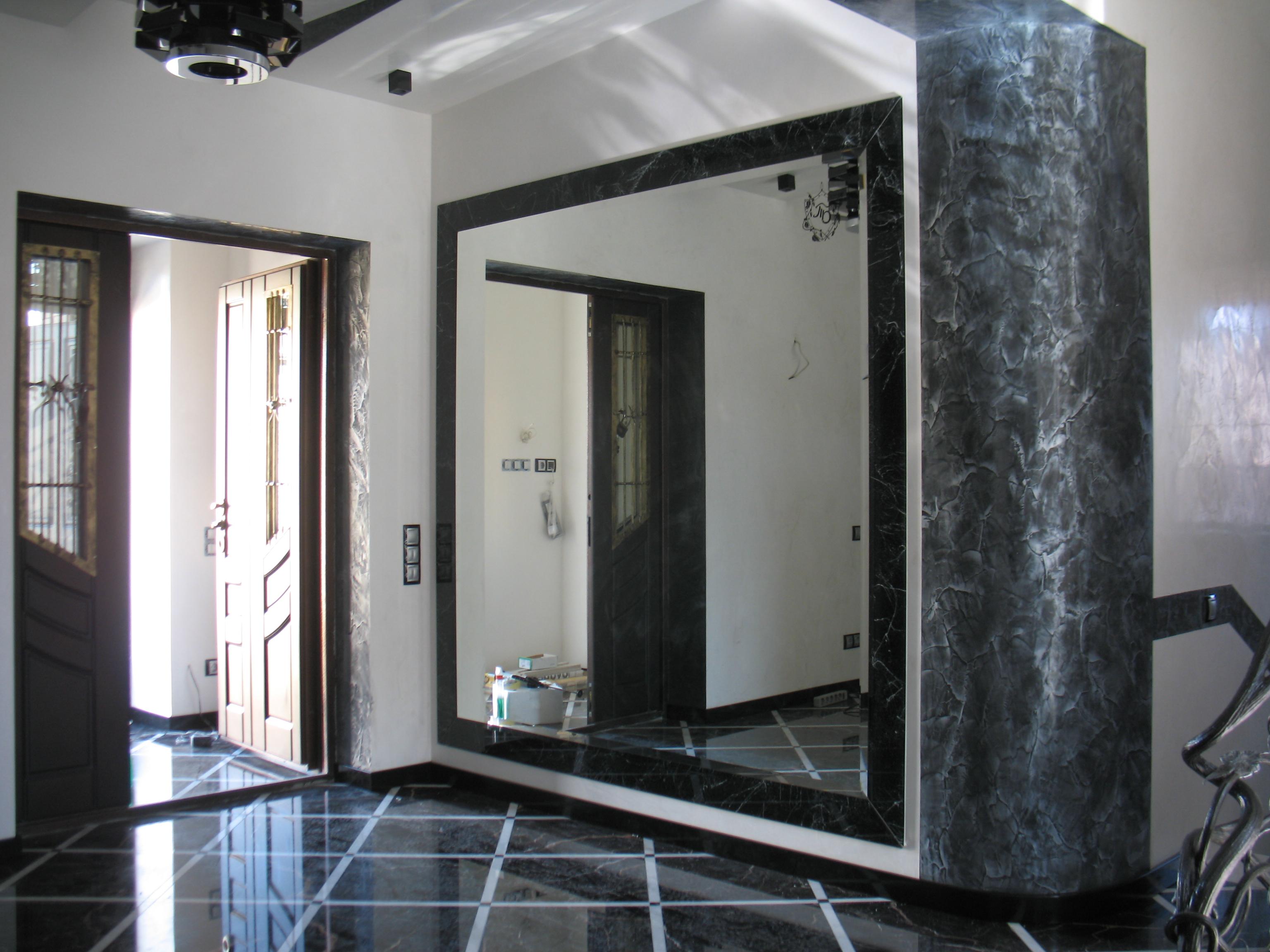 Большие зеркала в Москве на заказ